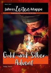 JahresZeiten-Mappe - Gold-und-Silber-Advent