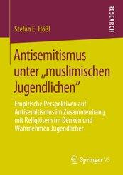 """Antisemitismus unter """"muslimischen Jugendlichen"""""""