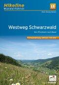 Hikeline Wanderführer Fernwanderweg Westweg Schwarzwald