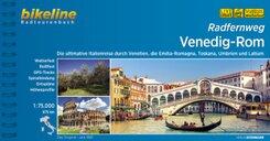 Bikeline Radtourenbuch Radfernweg Venedig-Rom