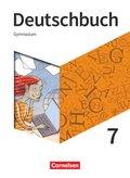 Deutschbuch Gymnasium, Neue Allgemeine Ausgabe 2019: 7. Schuljahr - Schülerbuch