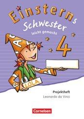 Einsterns Schwester, Sprache und Lesen, Neubearbeitung (2015): 4. Schuljahr, Leicht gemacht, Projektheft Leonardo da Vinci (Verbrauchsmaterial)
