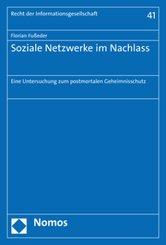 Soziale Netzwerke im Nachlass