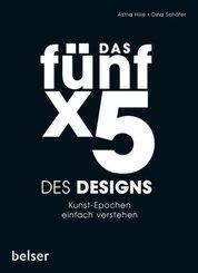 Das Fünf x 5 des Designs
