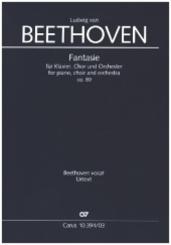 Fantasie, für Klavier, Chor und Orchester, Klavierauszug