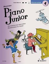 Piano Junior: Klavierschule - Bd.4
