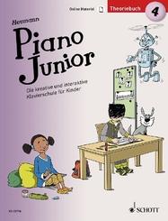 Piano Junior: Theoriebuch - Bd.4