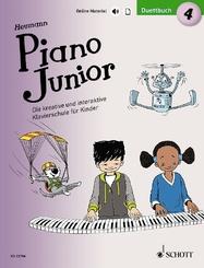 Piano Junior: Duettbuch - Bd.4