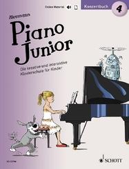 Piano Junior: Konzertbuch - Bd.4