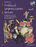 Fröhlich improvisieren lernen - Klarinette in B, m. Audio-CD - Bd.1