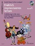 Fröhlich improvisieren lernen - Flöte, m. Audio-CD - Bd.1