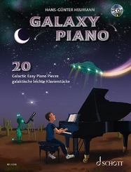 Galaxy Piano, m. Audio-CD