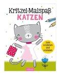 Kritzel-Malspaß Katzen; Volume 2