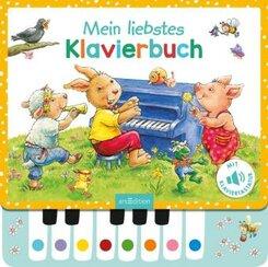 Mein liebstes Klavierbuch, m. Klaviertastatur u. Soundeffekten