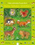 Mein schönstes Puzzle-Buch - Meine liebsten Waldtiere