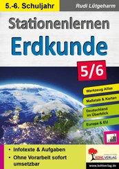 Stationenlernen Erdkunde / Klasse 5-6