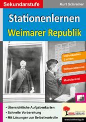 Stationenlernen Weimarer Republik