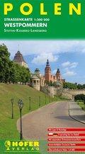 Höfer Straßenkarte Polen, Westpommern