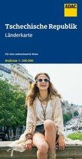 ADAC LänderKarte Tschechische Republik 1:300 000