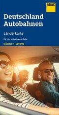 ADAC LänderKarte Deutschland Autobahnen 1:500 000