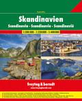 Skandinavien Superatlas, Autoatlas 1:200.000 - 1:400.000