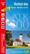 ATK100-15 Rottal-Inn (Amtliche Topographische Karte 1:100000)