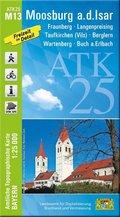 ATK25-M13 Moosburg a.d.Isar (Amtliche Topographische Karte 1:25000)
