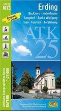 ATK25-N13 Erding (Amtliche Topographische Karte 1:25000)