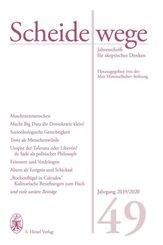 Scheidewege, Jahresschrift für skeptisches Denken: Scheidewege 2019/2020; 2019/2020