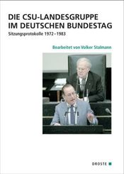 Die CSU-Landesgruppe im Deutschen Bundestag