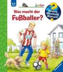 Wieso? Weshalb? Warum? junior: Was macht der Fußballer? (Band 68)
