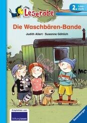 Die Waschbären-Bande - Leserabe, 2. Lesestufe