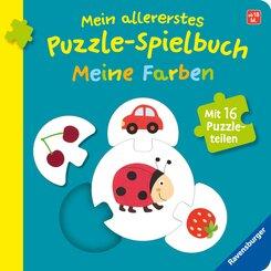 Mein allererstes Puzzle-Spielbuch: Meine Farben