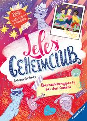 Leles Geheimclub, Band 2: Übernachtungsparty bei den Queens; .