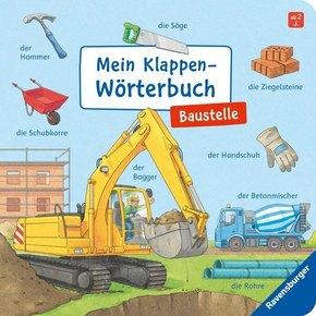 Mein Klappen-Wörterbuch: Baustelle