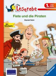 Fiete und die Piraten - Leserabe 1. Klasse - Erstlesebuch für Kinder ab 6 Jahren