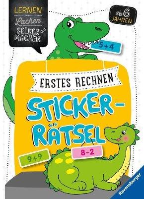 Erstes Rechnen Sticker-Rätsel