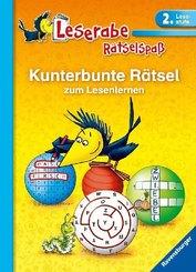Leserabe - Kunterbunte Rätsel zum Lesenlernen (2. Lesestufe)