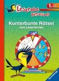 Kunterbunte Rätsel zum Lesenlernen (1. Lesestufe) Leserabe - Rätselspaß
