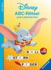 Disney - ABC-Rätsel zum Lesenlernen