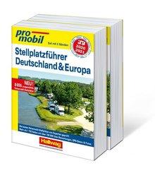 promobil Stellplatzführer Deutschland & Europa 2020/2021, Set mit 2 Bänden
