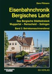 Eisenbahnchronik Bergisches Land - Band 2 - Bd.2