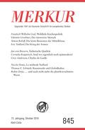MERKUR Deutsche Zeitschrift für europäisches Denken - Nr.845