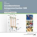 Grundkenntnisse Anlagenmechaniker SHK, Lernfelder 1-4, Arbeitsheft mit eingetragenen Lösungen, CD-ROM