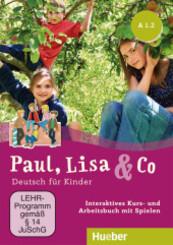Paul, Lisa & Co: A1/2 - Interaktives Kursbuch für Whiteboard und Beamer, DVD-ROM