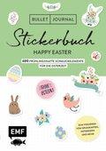 Bullet Journal - Stickerbuch Happy Easter: 900 frühlingshafte Schmuckelemente für die Osterzeit