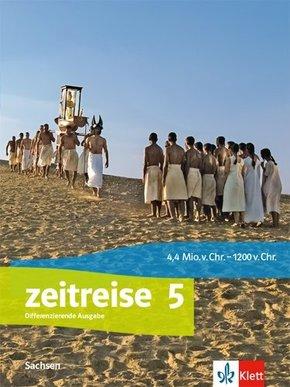 Zeitreise, Ausgabe für Sachsen Oberschule ab 2020: 5. Schuljahr, Schülerbuch