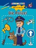 Hier ist was los, Ausmalbuch - Die Polizei
