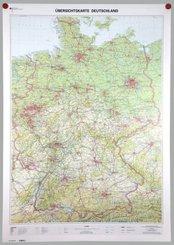 Übersichtskarte Deutschland 1:750000, Planokarte