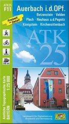 ATK25-F11 Auerbach i.d.OPf. (Amtliche Topographische Karte 1:25000)